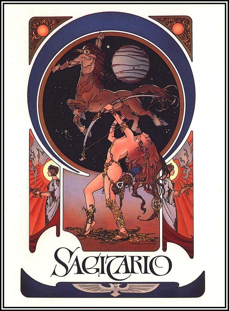 BY ESTEBAN MAROTO..........THE SIGNS OF THE ZODIAC...........SOURCE LES RETROGALERIESDEMISTERGUTSY.BLOGSPOT.FR................: