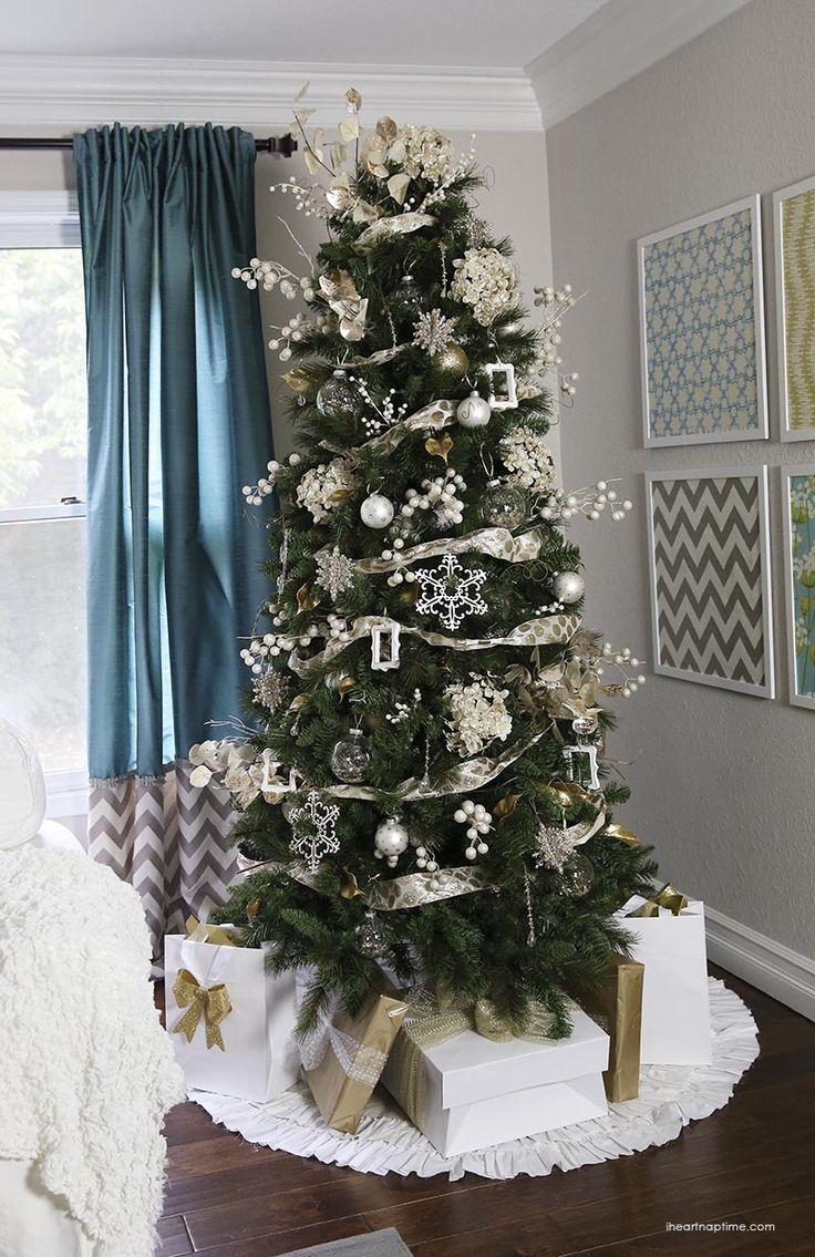 Mrs potts chip christmas decoration - Gold Christmas Tree