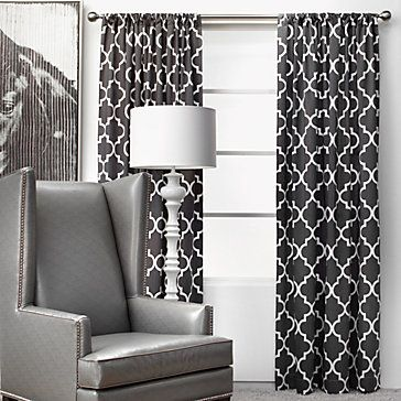 Love these curtains for the living room