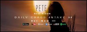 Daily Chaos Intake II - Megjelent Pete (Naturus, Philosopher, Toscrew) második szólólemeze