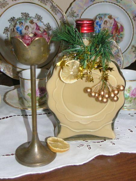 Vianočný karamelový likér