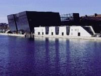 Den sorte diamanten. Det er kallenavnet på byens bibliotek. Flott bygg. Omvisning på lørdag kl 15.