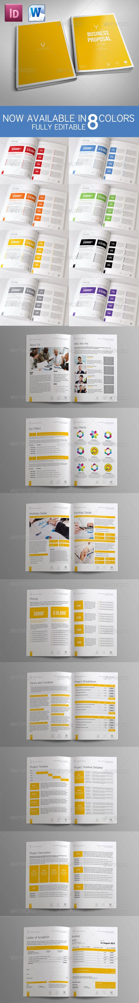Sleman Clean Proposal Template Volume 3  #GraphicRiver