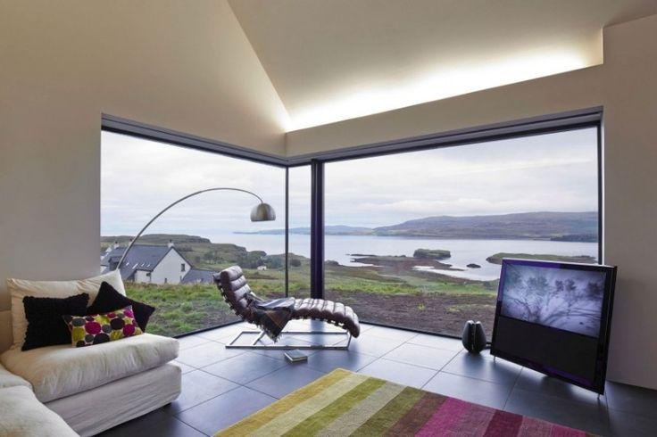 ber ideen zu led beleuchtung wohnzimmer auf. Black Bedroom Furniture Sets. Home Design Ideas