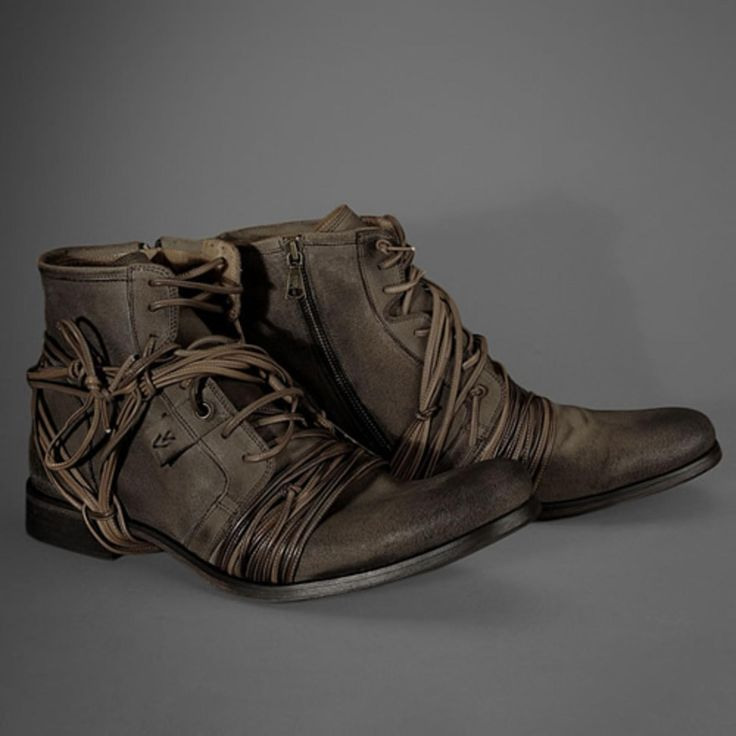 John Varvatos Limited Edition X-Lace Boot.