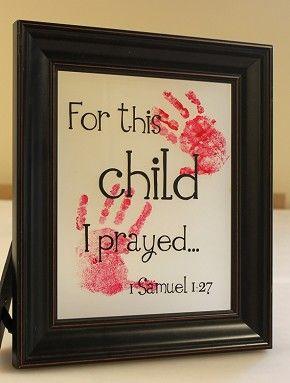 Child I prayed (8x10)