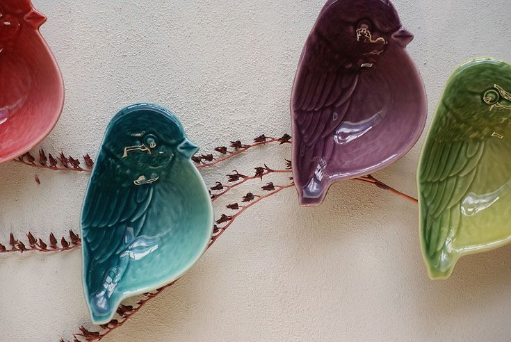 Our new Tweet dish are in stores now! #TheSourceProducts #ceramics #birds #cute