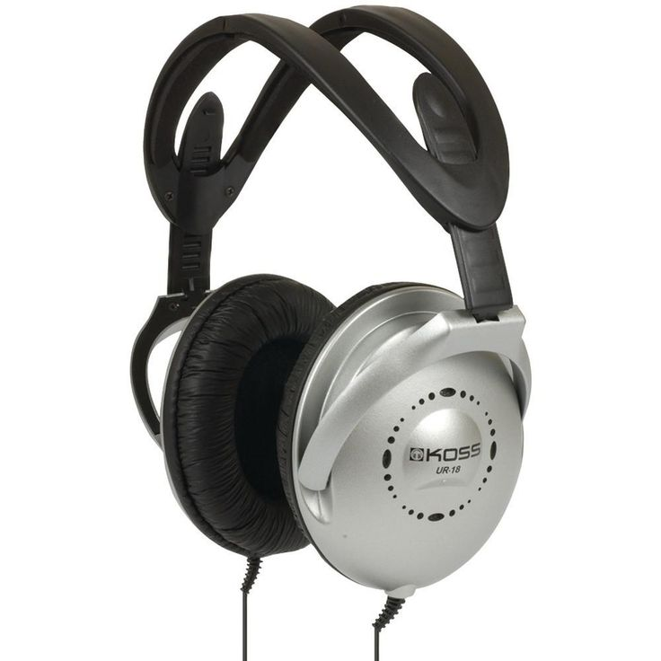 KOSS 184903 UR18 Over-Ear Headphones