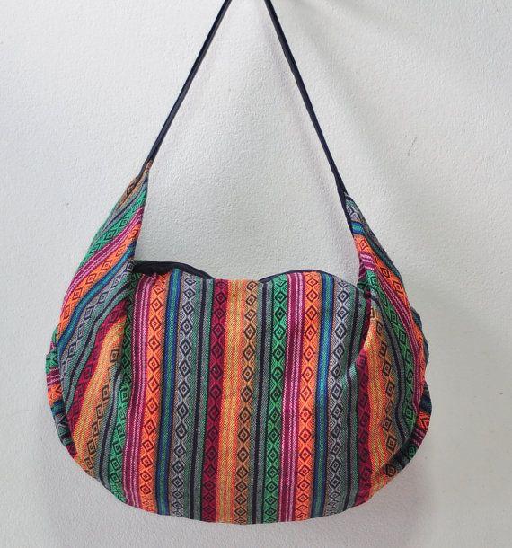 Sacchetto di cotone Big bag comodi bag Hippie di SabanNga su Etsy