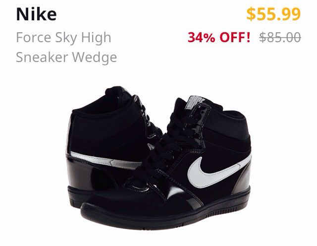 Discount Nike Sneakers up to 50% off !! At http://www.6pm.com go get them now!!!🌹