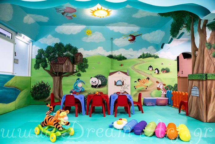 Ζωγραφική στον τοίχο Παιδότοπου
