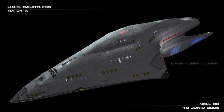 dauntless future nx starship uss starships concepts concept class sci fi photobucket