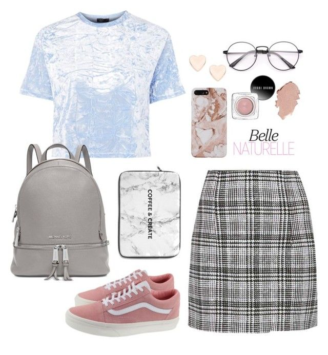 """""""Untitled #90"""" by jrekhung on Polyvore featuring Off-White, Nobody's Child, Michael Kors, Ted Baker and Vans"""