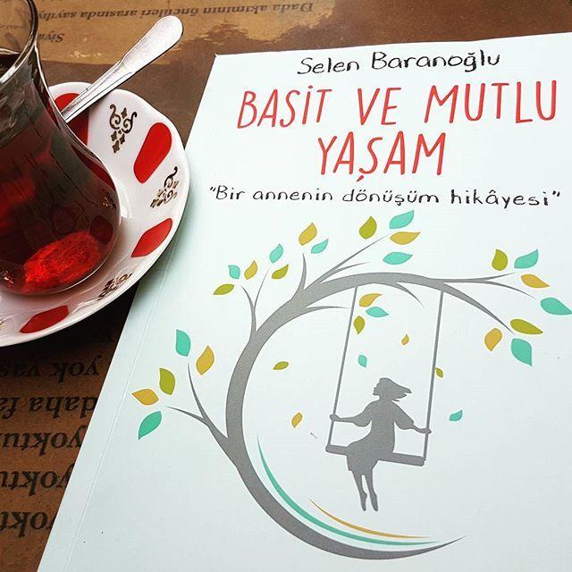 Bugün ne tatli bir sürpriz geldi❤ @basitvemutluyasam #basitvemutluyasam kitabi...başlığı kadar tatli bir kitap 😊😊😊