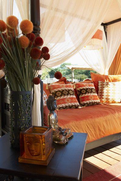 Moroccan bedroom - With Orange moroccan bedroom, orange asian decor.