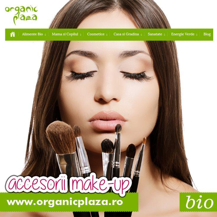 Pensule, Bureti si Ascutitoare pentru creioane de ochi! 10% Reducere pe site-ul www.organicplaza.ro cu codul MKACC Descopera-le mai jos: http://organicplaza.ro/accesorii-make-up