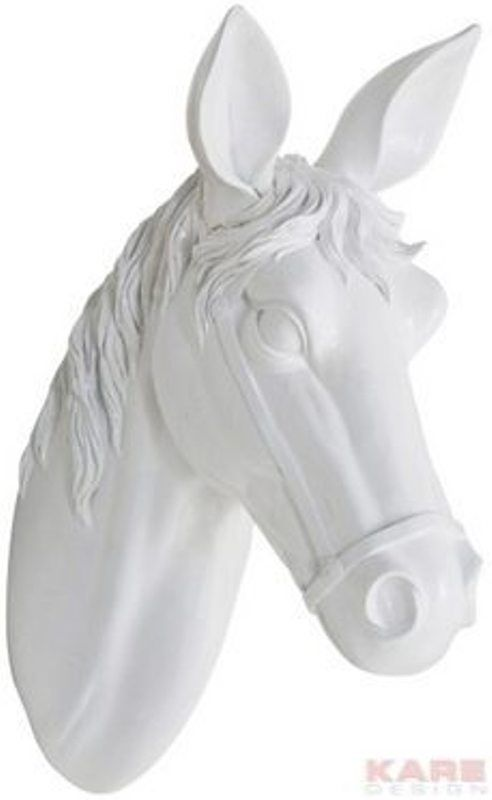 Διακοσμητικό Τοίχου Horse Head White Small Το κεφάλι ενός αλόγου από polyresin σε λευκό χρώμα, αποτελεί ένα υπέροχο διακοσμητικό για τον τοίχο. Μεγαλοπρεπές διακοσμητικό που θα αναβαθμίσει άμεσα τον χώρο σας.