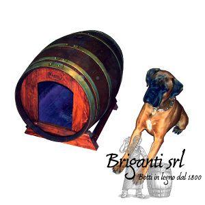 2213 - Cuccia per cane da botte usata cod.080/G