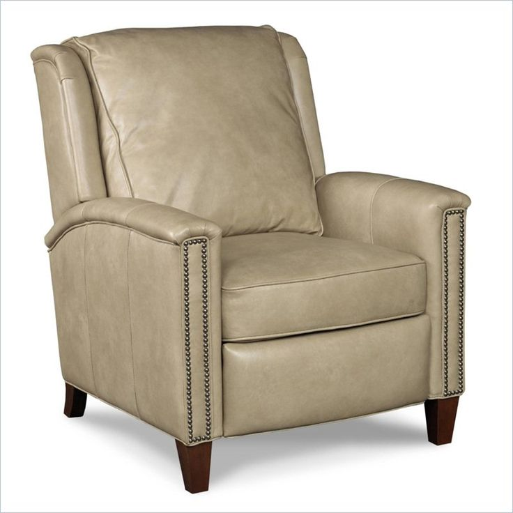 Hooker Furniture Leather Recliner Chair in Empyrean Tweed                                                                                                                                                                                 More