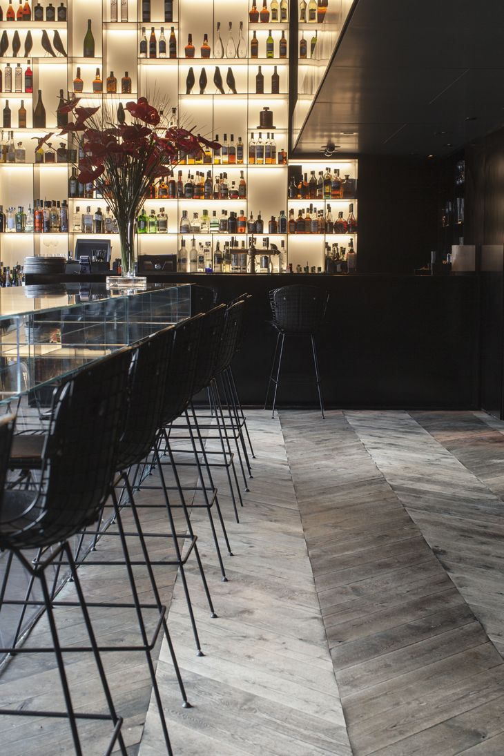 Tunes Bar at the Conservatorium hotel Amsterdam designed by Piero Lissoni