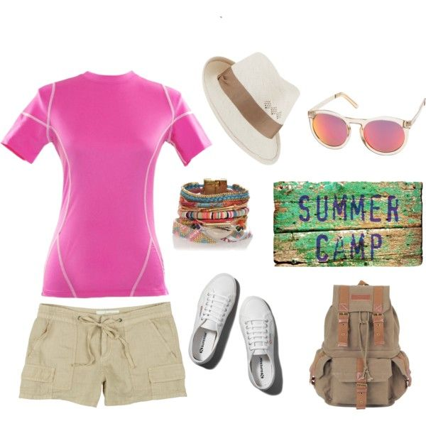 """""""summer camp"""" by uvcouture on Polyvore"""