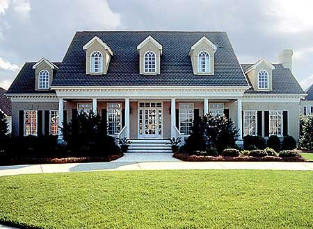 Spacious Southern Colonial - 1770LV | Country, Southern, Photo Gallery, 1st Floor Master Suite, Bonus Room, CAD Available, Den-Office-Library-Study, Jack & Jill Bath, PDF, Corner Lot | Architectural Designs