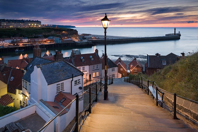 The Abbey Steps, Whitby taken by David Speight Pinned from Photo.net