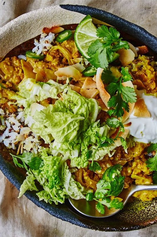 PORK CURRY WITH TURMERIC · food4four