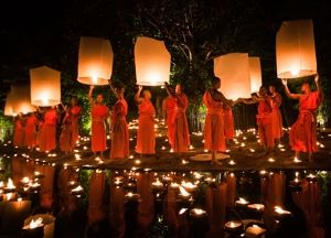 Has possible dates for lantern release in Chaing Mai- Thailand Exploration and Photography Expedition November  2014