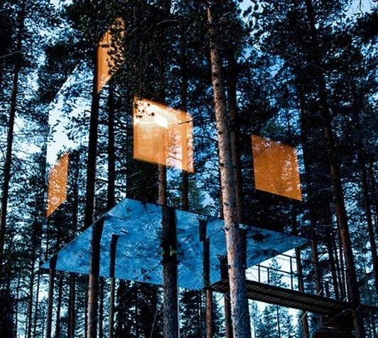 """本当に自然にとけ込んでいる""""世界のツリーハウス""""には大人の夢がつまっています   SELECTY   Antenna(アンテナ)   ホリエモンドットコム"""