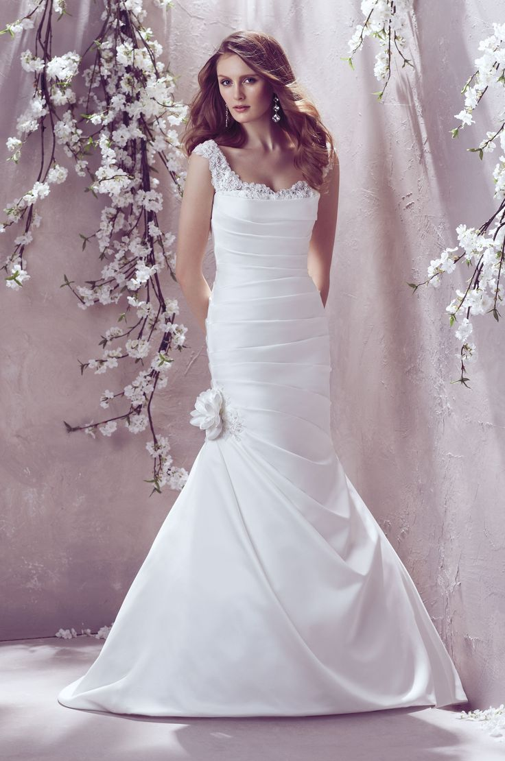 Nice Style by Mikaella Find this Pin and more on Satin Wedding Gowns
