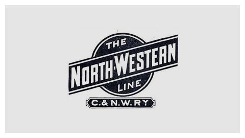 Railroad Company Logo Design Evolution - 100 logos from American and Canadian railroad companies // The North Western Line logo is my favorite, so much so that I modeled the Code & Arrow logo after it