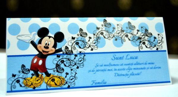 Card de bani cu Mickey Mouse cu reducere 50%