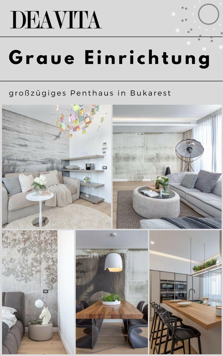 Farbe Grau Visuelle Effekte Interior: Einrichten