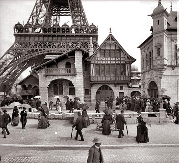 Tour Eiffel 1889 garnier