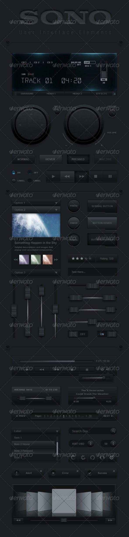 SONO User interface Set