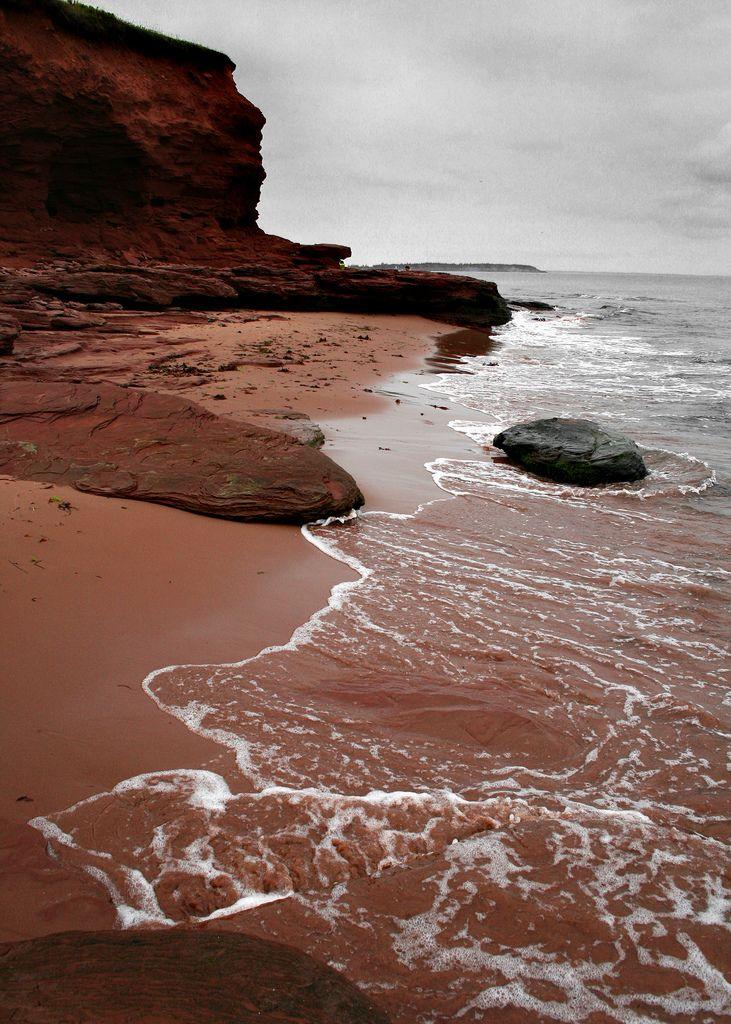 Twin Shores Beach, Prince Edward Island, Canada. #Canada #travel #ocean