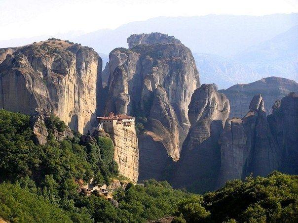 Монастыри Метеоры, Греция - Путешествуем вместе