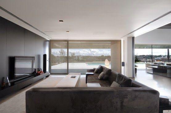 """Tips y estrategias para lograr un ambiente """"mínimo"""" en decoración y máximo en función http://www.arquitexs.com/2015/03/tips-y-estrategias-Diseno-y-decoracion-Minimalista.html"""