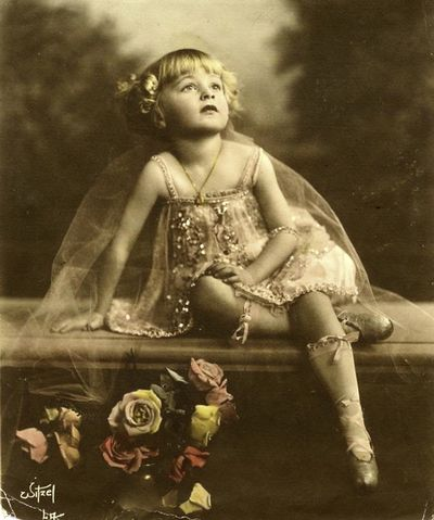 Baby Rose Louise Hovick (Gypsy Rose Lee) by Witzel