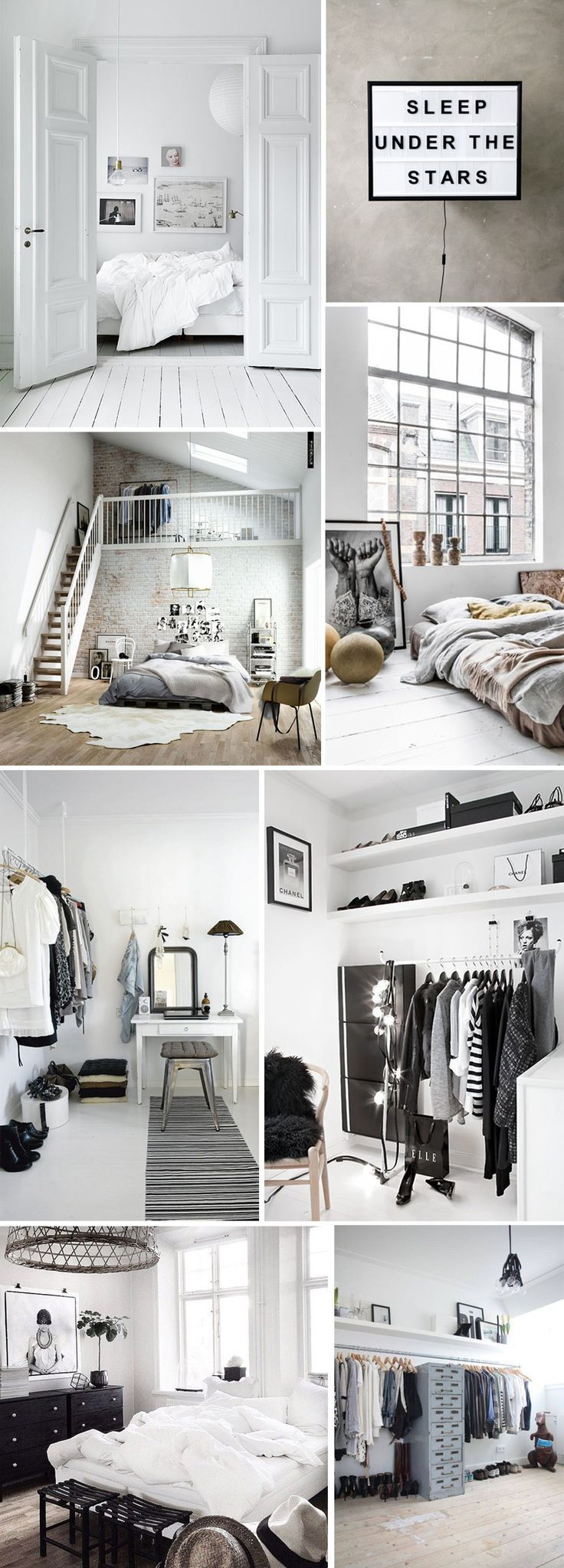White home spaces