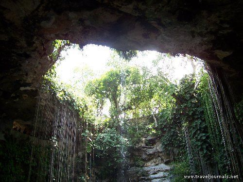 Cenotes - limestone sinkholes with roots in Maya culture & sacrifices