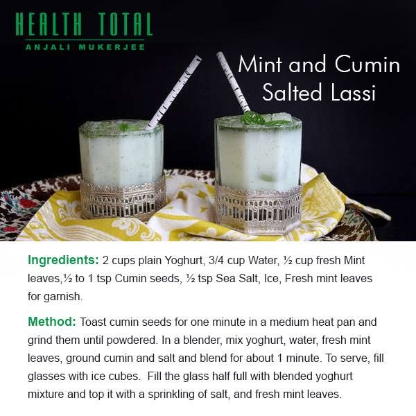 An amazing health drink for the winter - Mint and Cumin ...