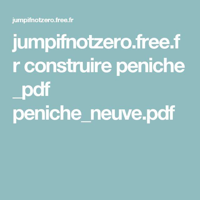 jumpifnotzerofreefr construire peniche _pdf peniche_neuvepdf