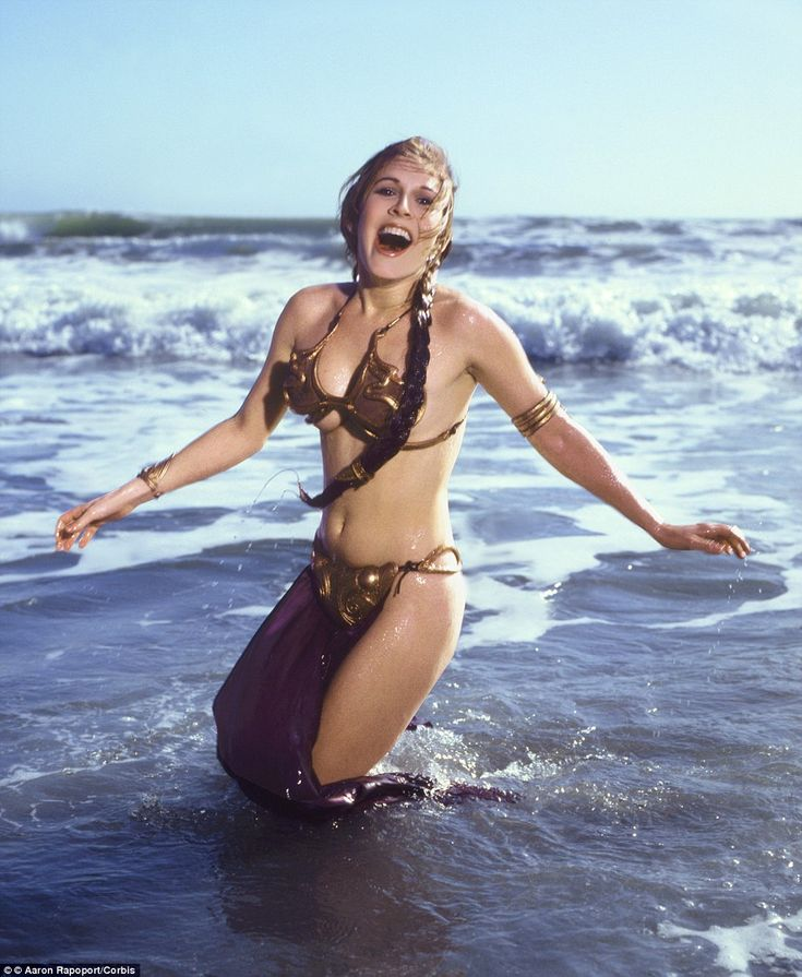 In the years following Star Wars, Fisher expressed pure hatred for the iron bra she had to wear in scenes where she was held captive by Jabba the Hutt