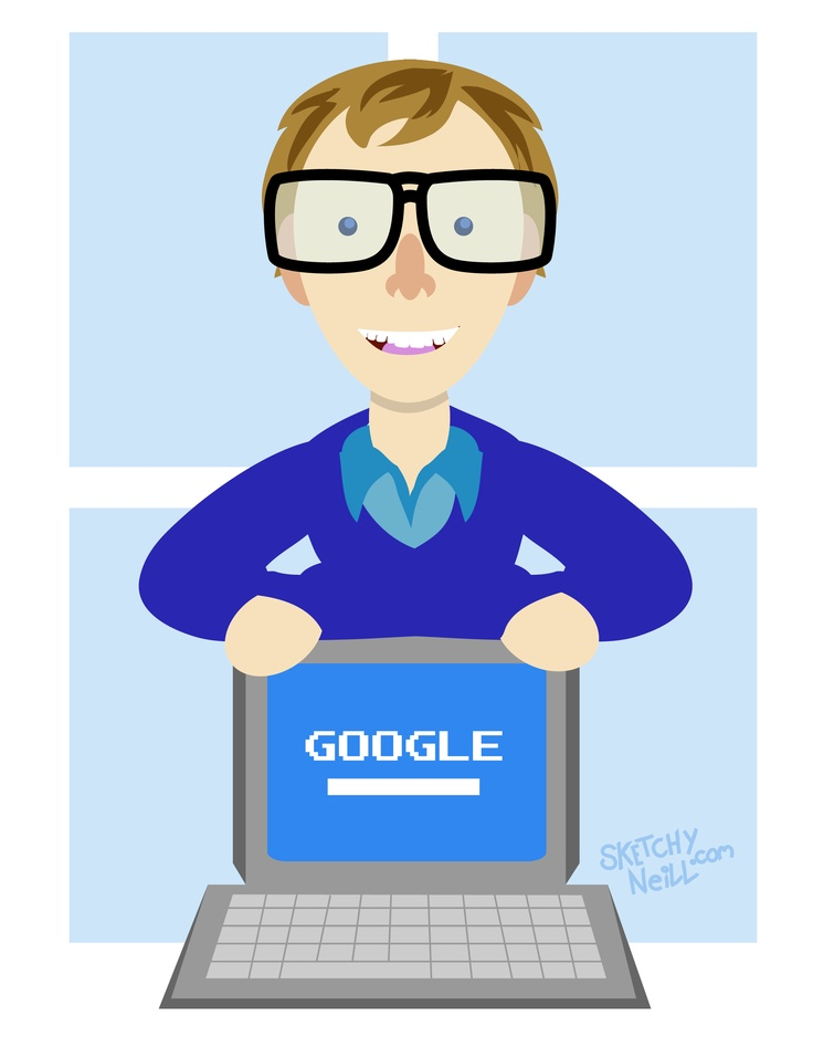 October 28th - Happy Birthday Bill Gates, I would get you something but I think you've had enough.    Start up your hard drive @ http://www.sketchyneill.com