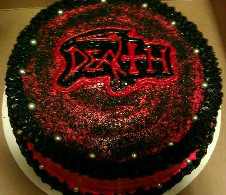 Death Metal Birthday Cake