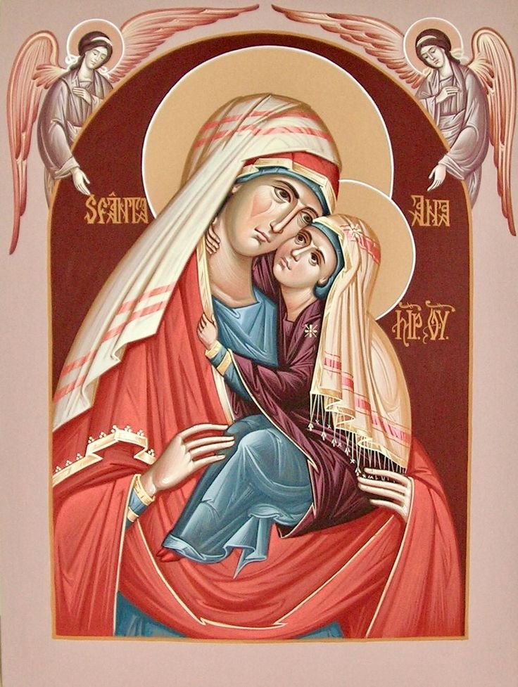 St. Anna by Camelia Toma of Romania