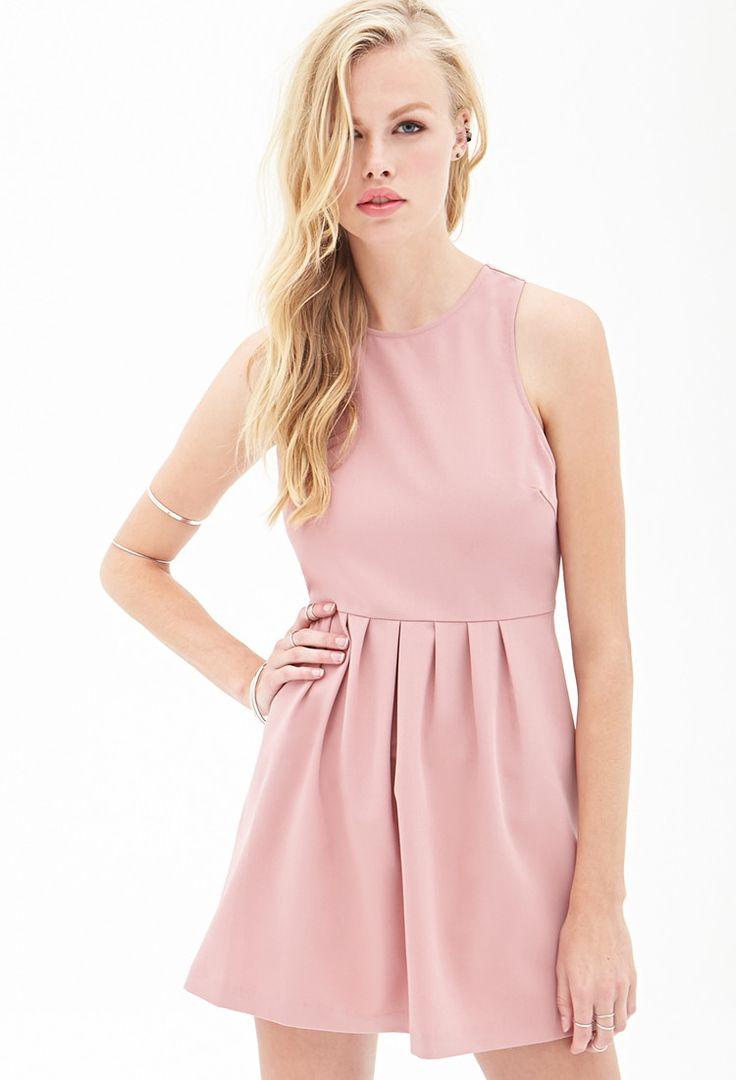 Woven Crossback Dress