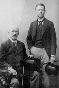 Чайковский, Пётр Ильич — Чайковский и «Боб» Давыдов